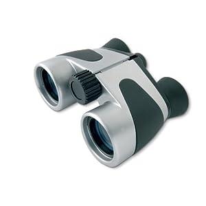 eBuyGB 1252503 - Prismáticos Plegables para niños, 4 x 30, Color Negro