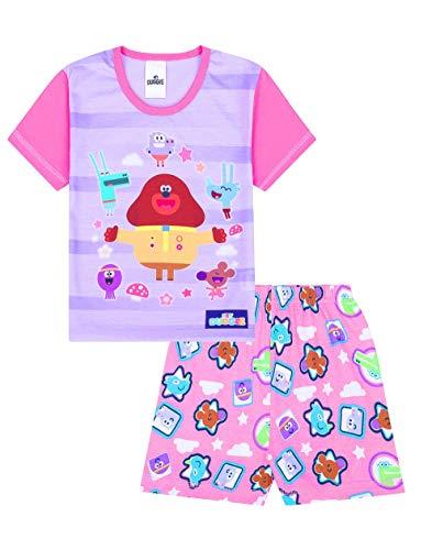 Offizieller Hey Duggee Mädchen-Schlafanzug, kurz, Pink Gr. 18-24 Monate, Rose - Kinder Mädchen Short Pj