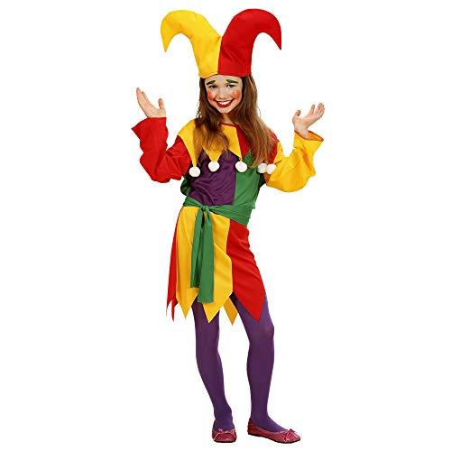 Hofnarr Kinder Kostüm - WIDMANN Kinderkostüm Jolly Jester
