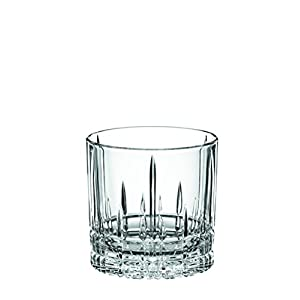 Spiegelau & Nachtmann, 4-teiliges Whisky-Set, Single Old Fashioned Glas, 270 ml, Kristallglas, Perfect Serve, 4500177