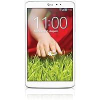 LG G Pad 8.3 Tablet (21 cm (8,3'') Full HD IPS écran, 1,7GHz Quad-Core processeur, 2Go RAM, 16Go RAM, WiFi, Android 4.2.2) Blanc (Import Europe)