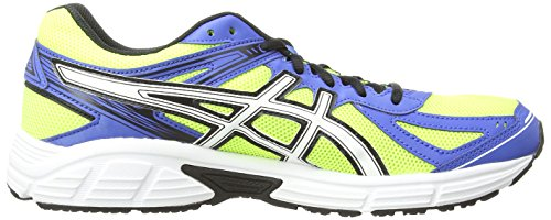 ASICS Patriot 7, Running Entrainement Hommes Jaune (Flash Yellow/White/Blue 701)