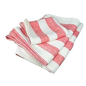 linenme philippe serviette de bain en lin rouge rouge 65. Black Bedroom Furniture Sets. Home Design Ideas