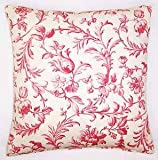 Laura Ashley iron work cranberry cushion cover approx 50x50cms