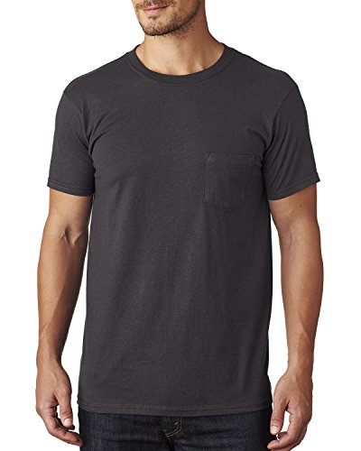 Cotton Pocket Vintage Shirt 100 T 5 Nano Ringspun Hanes T Black With OZ 4 1q7RcwcgX