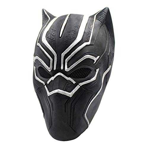 Halloween Dekoration Black Panther Doktor Maske Kostüm Maske Cosplay Volle Kopfmaske Latex Fire Wolf