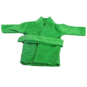 c9ab866e55 huichang Cute Soft Robe Dolls Robe Fit 18 inch Our Generation For American  Girl Doll (Green)  Amazon.co.uk  Toys   Games