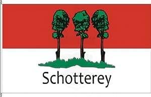 Königsbanner Hissflagge Schotterey - 80 x 120cm - Flagge und Fahne