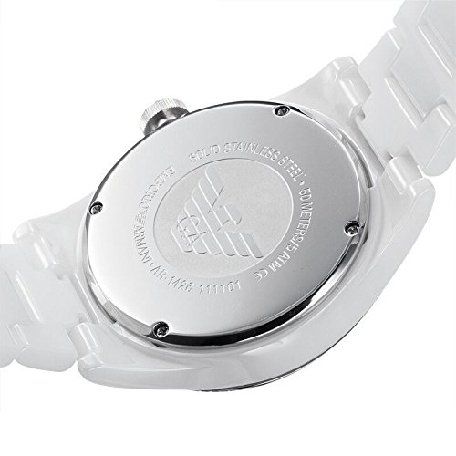 Emporio Armani Damen-Armbanduhr Analog Quarz Keramik AR1426 - 3