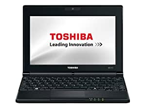 Toshiba NB500-12V 25,7 cm (10,1 Zoll) Netbook (Intel Atom N455, 1,6GHz, 1GB RAM, 320GB HDD, Intel GMA 3150, Win 7 Starter) orange-metallic