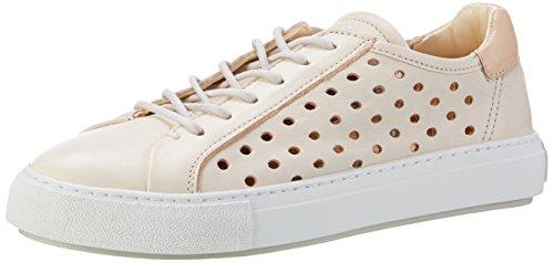 Marc O'Polo Damen 70114053503102 Sneaker, Weiß (Offwhite), 40 EU (Laufschuhe Besten Am Gepolsterte)