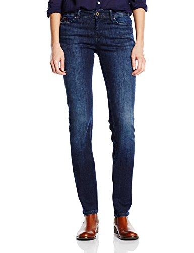 Tommy Jeans Hilfiger Denim Damen Straight Leg Jeanshose Mid rise Sandy DAST, Gr. W33/L34,  Preisvergleich