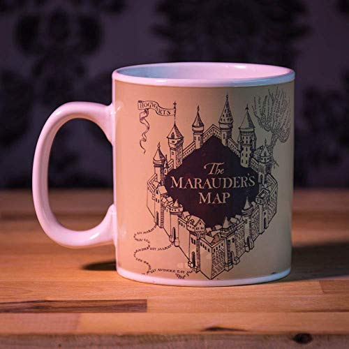 Harry Potter Wärme ändern Becher - Marauder's Map -