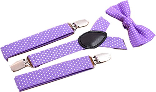TOPSTORE01 Correas Elásticas De Color Sólido Bowknot Chico Chica 3 Clips Correas Jean Corset (Color 4)