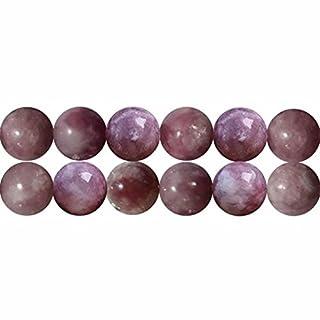 Natuerliche 6mm Edelstein Rosa Turmalin Perlen für Schmuckherstellung 38cm Strang Approx 60 Stück