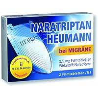 Naratriptan Heumann Bei Migraene 2,5 mg Filmtabl. 2St preisvergleich bei billige-tabletten.eu