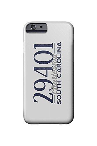 South Carolina Womens Zip (Charleston, South Carolina - 29401 Zip Code (Blue) (iPhone 6 Cell Phone Case, Slim Barely There))
