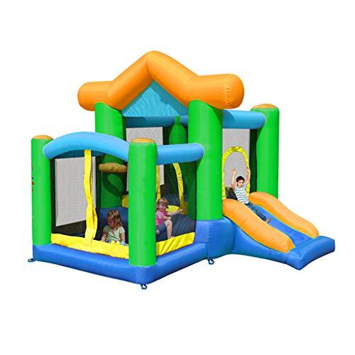 GUO XINFEN Aufblasbares Trampoline-Bett-Innenkleinkind-Luftkissen-Spielzeug-Pool-großes aufblasbares Schloss-Ausgangs-aufblasbare Trampoline