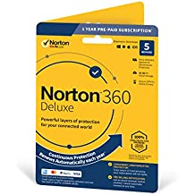 Norton 360 Deluxe 2020, Antivirus software for 5 Devices and 1-year subscription with automatic renewal, Includes Secure VPN and Password Manager, PC/Mac/iOS/Android, Activation Code by Post