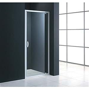 Accès face MEZZO porte pivotante extensible de 75 à 79 cm verre transparent Réf LZ9F750