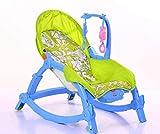 GZ Aby Schaukelstuhl, Liege Kinderbett Kleinkind Baby Newborn Multi-Funktions-Koax-Puppe Artefakt Stromschlag Beruhigend,Grün,1