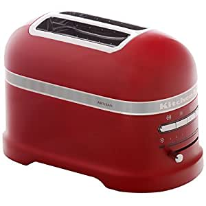 KitchenAid - 5KMT2204EER - Grille-pains, 1250 watts, Rouge