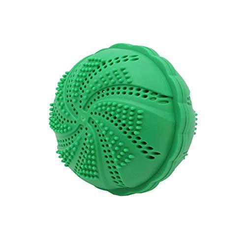 RGTR72 Magic Wäsche Ball, Eco Magic Wäsche Waschmaschine reinigen & weicher Kleidung Waschball - 1000 Wäschen, grün, Free Size -