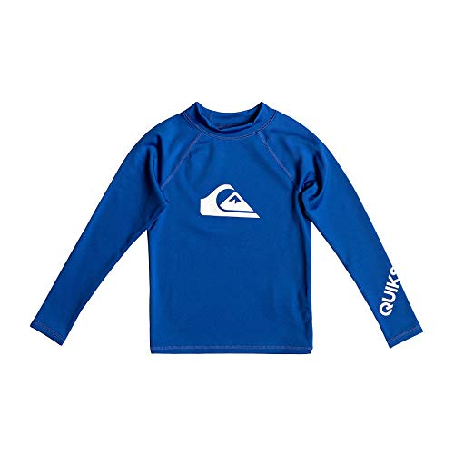 Quiksilver Kinder All Time L/sl Surf Tee Electric Royal 7