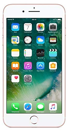 Apple Iphone 7 Plus Smartphone 4G (Display: 5, 5', iOS 10), 128 GB, Oro (Oro rosa) Ricondizionato