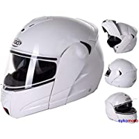 3GO E-115 - Gafas de seguridad unisex para motocicleta delantera y trasera, 4