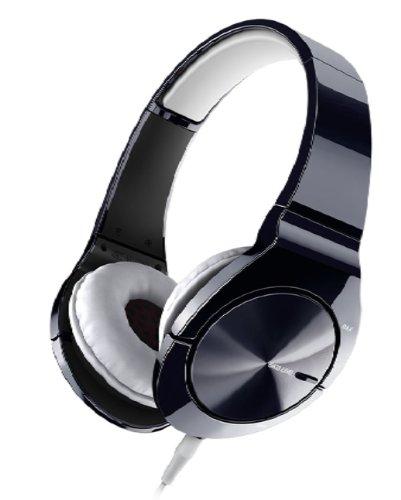 Pioneer SE-MJ751 Cuffia Bass Head, Nero/Bianco