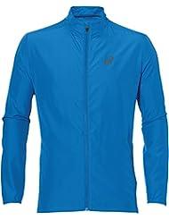 Asics–Jacket chaqueta de running, Otoño-invierno, hombre, color Directoire Blue, tamaño medium
