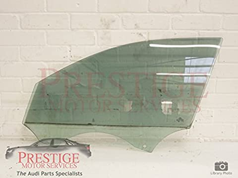 Audi A4 B8 Front NS Left Door Window Glass