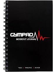 GymPad Diario de entrenamiento con más de 25 recursos útiles, color negro, puede no estar en español