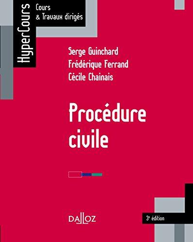 Procédure civile 3e éd. - 3e éd.