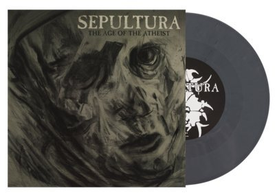 "SEPULTURA, The age of the atheist GREY VINYL - 7""EP"