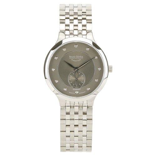 Bruno Söhnle Damen Analog Quarz Uhr mit Edelstahl Armband 17-13136-775