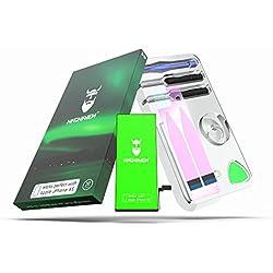 Hagnaven Batterie Li-polymère compatible avec l'iPhone 6s | LA PLUS PERFORMANTE batterie de remplacement incluant des outils | PUISSANCE INCROYABLE DU GRAND NORD | 1850mAh CELLULES DE HAUTE QUALITÉ