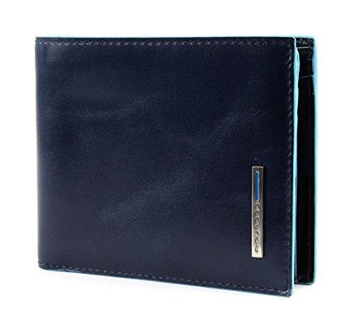 Piquadro Geldbörse Blue Square Herren Leder Blau - PU4518B2R-BLU2 -