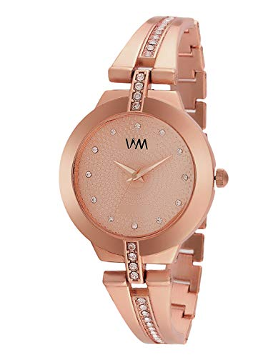 Watch Me Rose Gold Analogue Stainless Steel Women's Watch