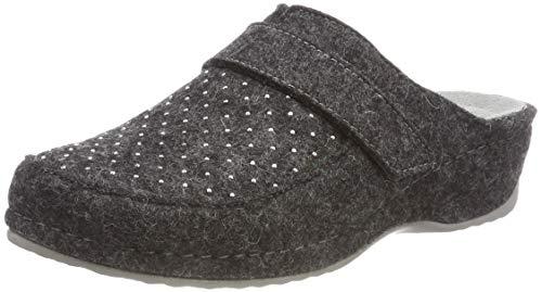 Rohde Damen Amalfi Pantoffeln, Grau (Anthrazit 82), 38 EU