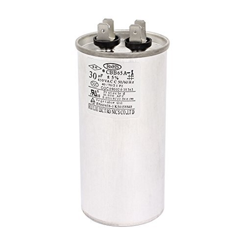 AC450V 30uF 50 / 60Hz Air Conditioner Motor Run Capacitor CBB65A-1