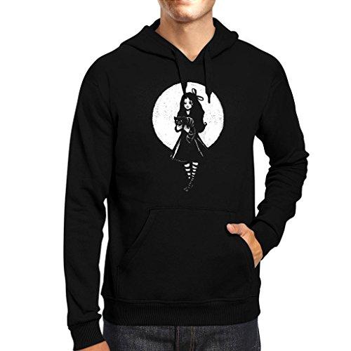 TeeTrumpet Dark Alice In Wonderland Men's Hooded Sweatshirt