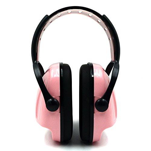 Professionale di rumore Cuffie insonorizzate - Protezione acustica Cuffie per Industrial arma da fuoco Caccia sonno Sport, Rosa