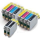 Epson Stylus DX8450 x10 Compatible Printer Ink Cartridges