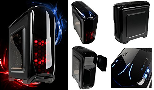 Sedatech - Gaming PC Advanced Intel i7-6700 4x3.40GHz, Radeon R7 360 2048Mb, 16GB RAM, 2000GB HDD, 250GB SSD, USB 3.0, 80+ Netzteil, Kartenleser, Win 7, Win 7 - Home, Office, Family, Gaming PC, PC Gamer, Multimedia, Desktop PC, Computer, Rechner