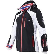 Nebulus Skijacke Davos - Chaqueta de esquí para mujer, color negro, talla L