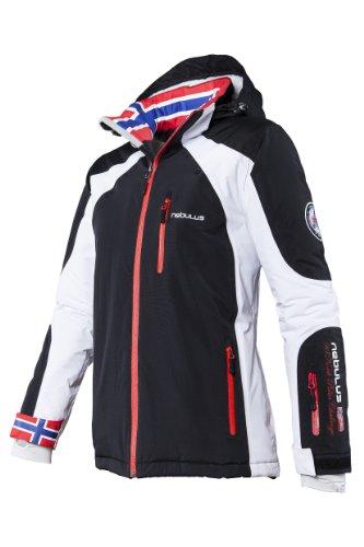 Nebulus Damen Skijacke Davos, schwarz, M, Q680