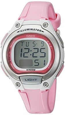 Casio Reloj 'Classic' resina de cuarzo Casual para Mujer, color: rosa (modelo: lw-203–4avcf)