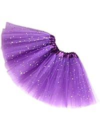 Reciy Sparkle 2-8T - Falda de tul para niña, diseño de princesa